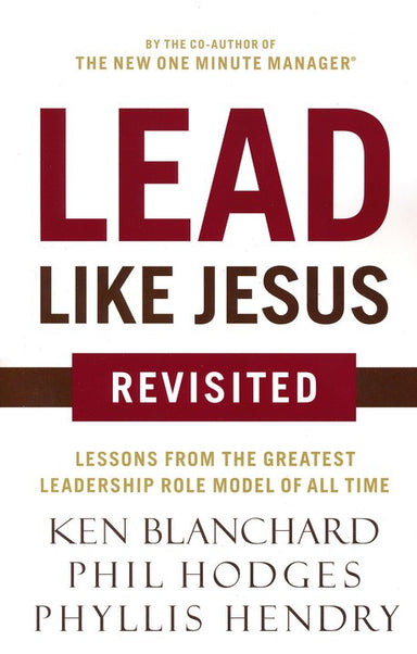 ROCKONLINE | New Creation Church | NCC | Joseph Prince | ROCK Bookshop | ROCK Bookstore | Star Vista | Lead Like Jesus, Revisited Edition | Free delivery for Singapore Orders above $50.