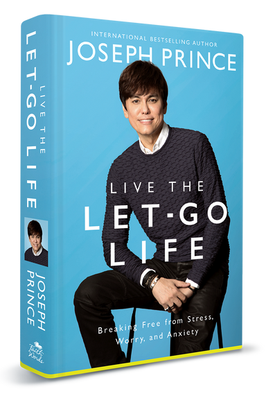 ROCKONLINE | New Creation Church | Joseph Prince | ROCK Bookshop | NCC | Christian Living | Live The Let-Go Life (softback) | Free shipping for Singapore orders above $50