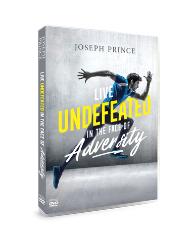 ROCKONLINE | New Creation Church | NCC | DVD Sermon | Joseph Prince | Live Undefeated In The Face Of Adversity | Rock Bookshop | Rock Bookstore | Star Vista | Free delivery for Singapore orders above $50.