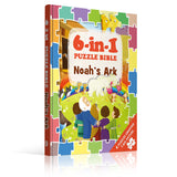 6-in-1 Puzzle Bibles, Noah's Ark