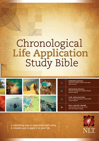 NLT Chronological Life Application Study Bible (Hardcover)
