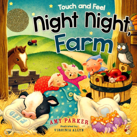 ROCKONLINE | New Creation Church | NCC | Joseph Prince | ROCK Bookshop | ROCK Bookstore | Star Vista | Children | Kids | Toddler |  Animals | Bible Stories | Boardbook | Night Night Farm Boardbook | Free delivery for Singapore Orders above $50.