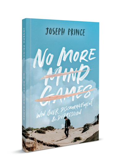 ROCKONLINE | New Creation Church | Joseph Prince | ROCK Bookshop | NCC | Christian Living | No More Mind Games (Softback) | Free shipping for Singapore orders above $50