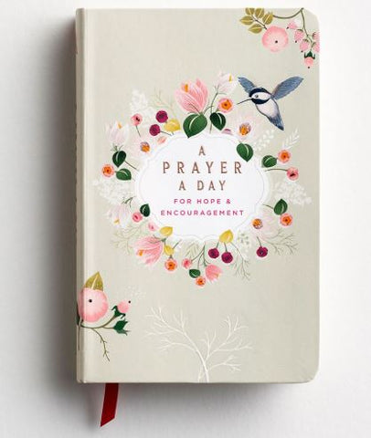 A Prayer A Day, Daily Devotional, Hardcover