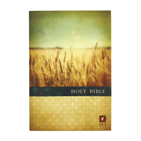 NLT Premium Value Slimline Bible Large Print, Paperback