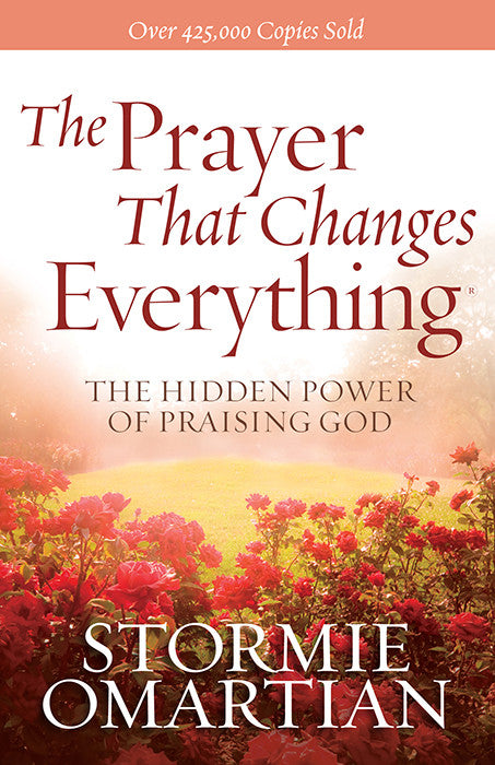 ROCKONLINE | New Creation Church | NCC | Joseph Prince | ROCK Bookshop | ROCK Bookstore | Star Vista | Stormie Omartian | The Prayer that Changes Everything | Free delivery for Singapore Orders above $50.