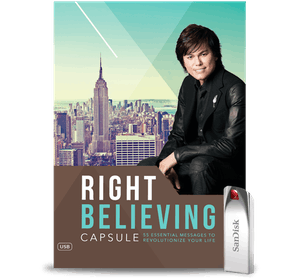 Right Believing Capsule USB