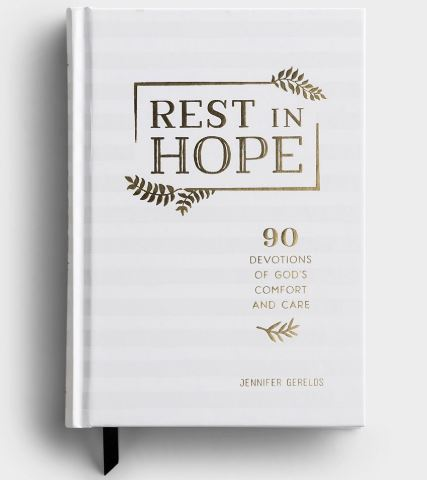 Rest In Hope, Devotional Gift Book, Hardcover