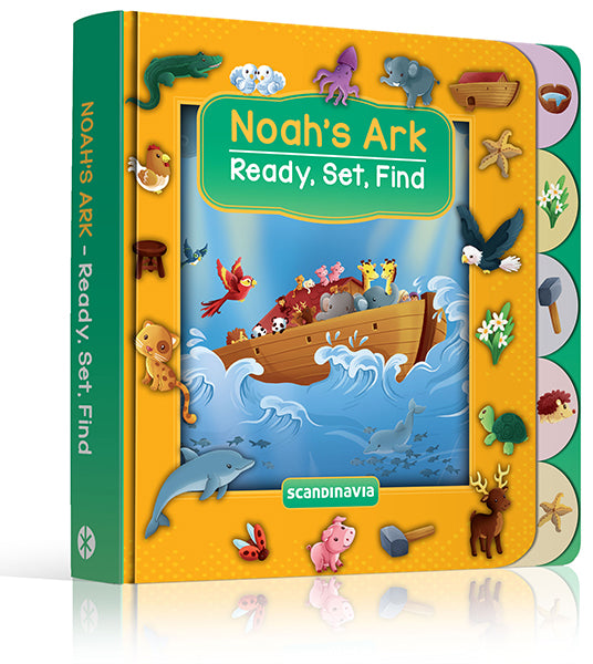 ROCKONLINE | New Creation Church | NCC | Joseph Prince | ROCK Bookshop | ROCK Bookstore | Star Vista | Children | Kids | Toddler | Preschooler | Ready, Set, Find | Noah | Ark | Boardbook | Bible Stories | Christian Living | Bible | Ready, Set, Find - Noah's Ark | Free delivery for Singapore Orders above $50.