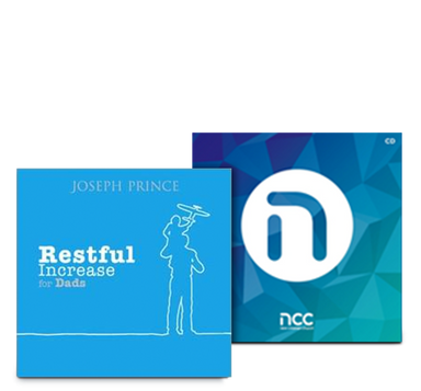 ROCKONLINE | New Creation Church | NCC | Joseph Prince | ROCK Bookshop | ROCK Bookstore | Star Vista | Restful Increase for Dads | Devotionals | Father | Special Gift Set for Dads | Special Bundle | Deals | Free delivery for Singapore orders above $50