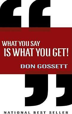 ROCKONLINE | New Creation Church | NCC | Joseph Prince | ROCK Bookshop | ROCK Bookstore | Star Vista | What You Say is What You Get | Don Gossett | Free delivery for Singapore Orders above $50.