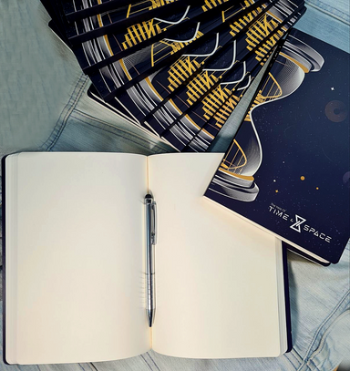 ROCKONLINE | New Creation Church | NCC | Joseph Prince | ROCK Bookshop | ROCK Bookstore | Star Vista | Time & Space A5 Notebook | 2020 Year of Time & Space | Free delivery for SG orders above $50.