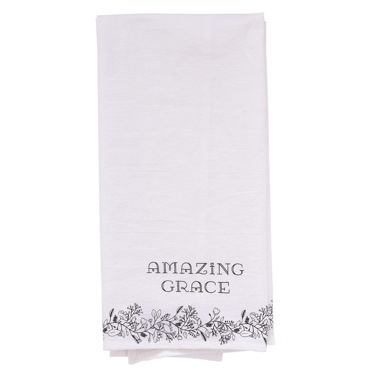100% Cotton Cream Tea Towel