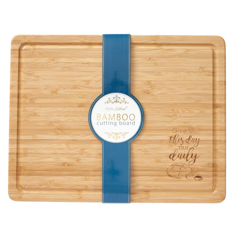 Bamboo Cutting Board, Large