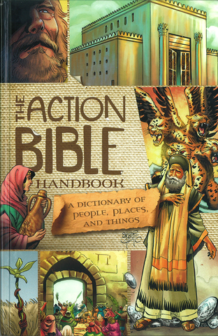 ROCKONLINE | New Creation Church | NCC | Joseph Prince | ROCK Bookshop | ROCK Bookstore | Star Vista | Children | Kids | Tween | Youth | Action Bible | Comics | Manga | Bible Stories | Christian Living | Bible Character | The Action Bible Handbook | Free delivery for Singapore Orders above $50.