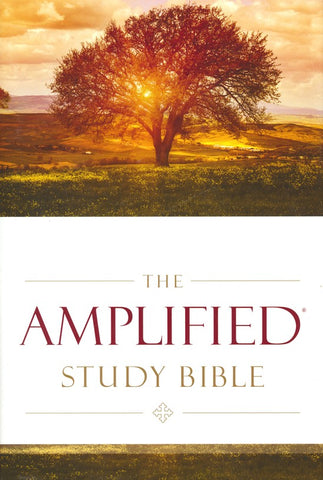 Amplified Study Bible Bonded Leather, Brown