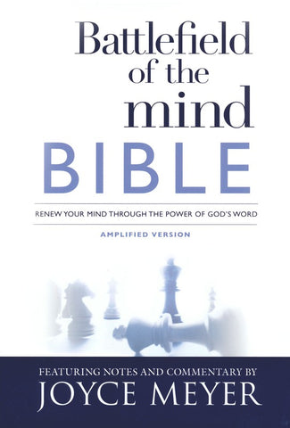 Battlefield of the Mind Bible (AMP)