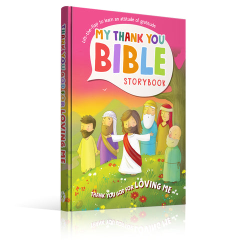 Thank You God For Loving Me, Bible Storybook