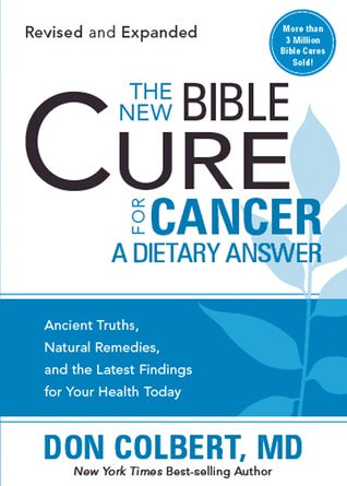 ROCKONLINE | New Creation Church | NCC | Joseph Prince | ROCK Bookshop | ROCK Bookstore | Star Vista | The New Bible Cure For Cancer |Cancer | Cure | Practical Help | Don Colbert | Free delivery for Singapore Orders above $50.