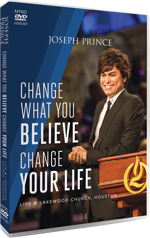 Change What You Believe, Change Your Life–Live @ Lakewood Church