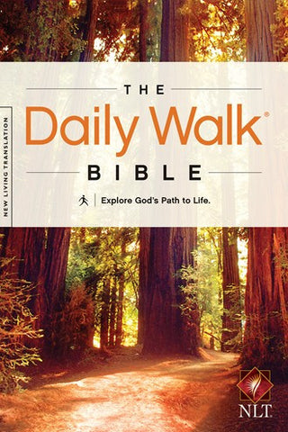 NLT The Daily Walk Bible