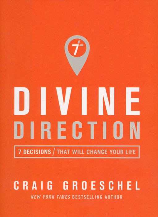 ROCKONLINE | New Creation Church | NCC | Joseph Prince | ROCK Bookshop | ROCK Bookstore | Star Vista | Divine Direction | Hardcover | Craig Groeschel | Free delivery for Singapore Orders above $50.