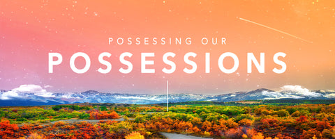 Possessing Our Possessions Merchandise – Car Decal