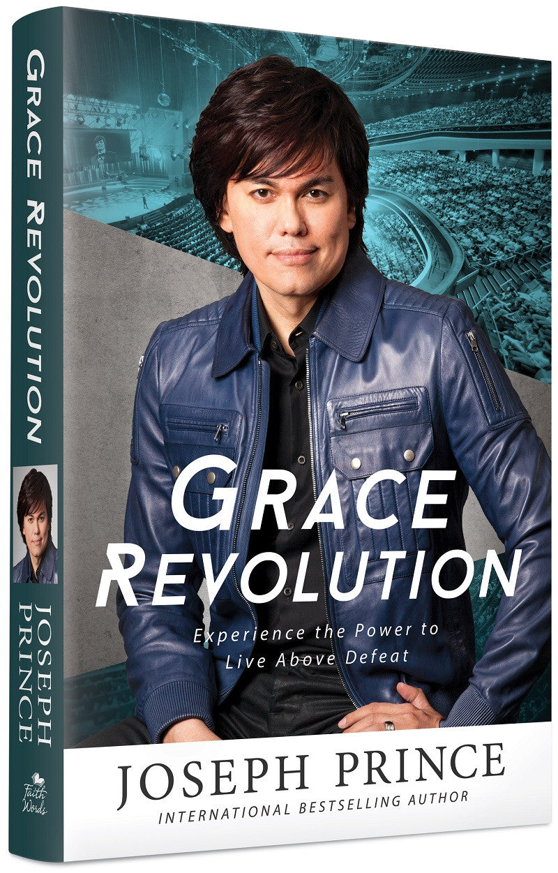 ROCKONLINE | New Creation Church | Joseph Prince | ROCK Bookshop | NCC | Christian Living |  Grace Revolution (softback) | Free shipping for Singapore orders above $50