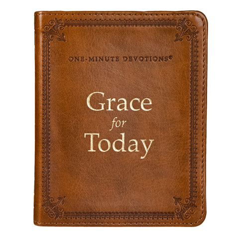 Grace for Today One Minute Devotional (Lux-Leather)