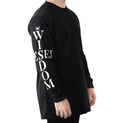 Hesed Wisdom Arm Print Long Sleeve Tee