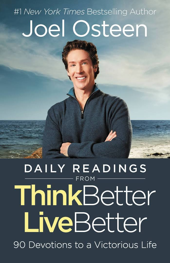 ROCKONLINE | New Creation Church | NCC | Joseph Prince | ROCK Bookshop | ROCK Bookstore | Star Vista | Daily Readings from Think Better, Live Better | Joel Osteen | Devotional | Free delivery for Singapore Orders above $50.