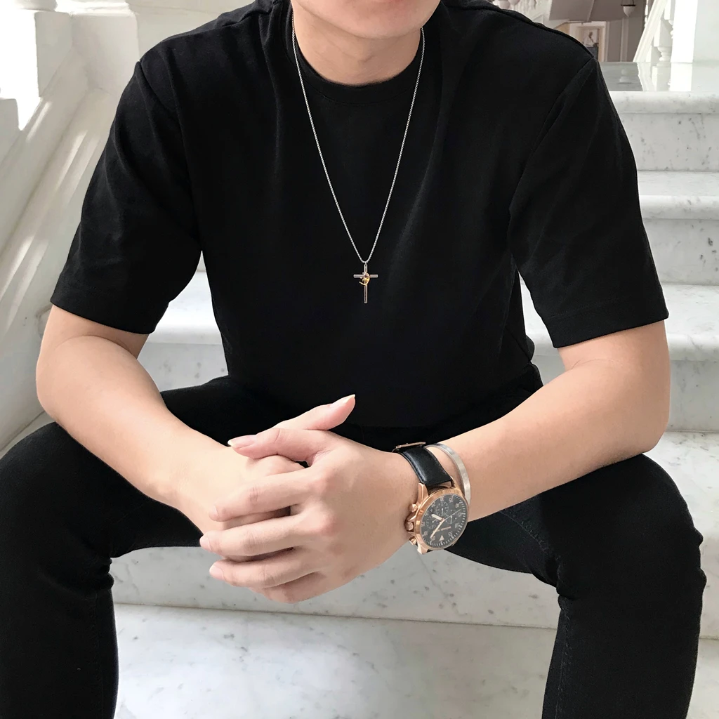 ROCKONLINE | New Creation Church | NCC | Joseph Prince | ROCK Bookshop | ROCK Bookstore | Star Vista | Lifestyle | Mothers | Ladies | Gift | Necklace | Earrings | Bangle | Scriptures | King of kings Cross Pendant Necklace by Jacob Rachel | Free delivery for Singapore Orders above $50.