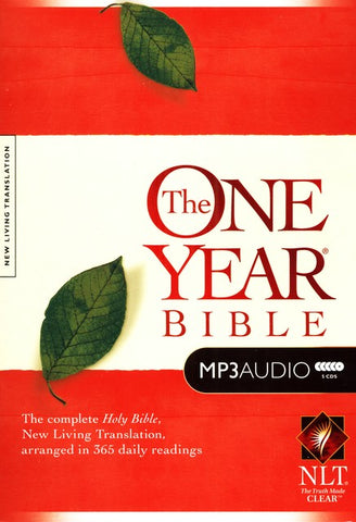 NLT One-Year Audio Bible (MP3 CD)