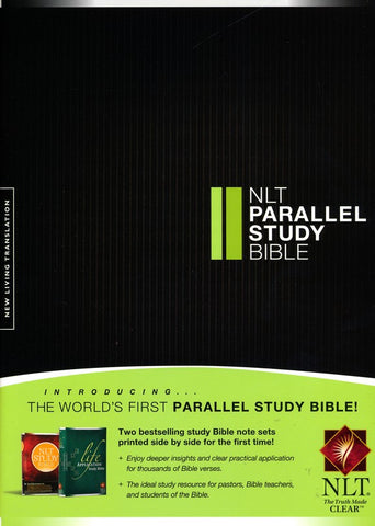 NLT Parallel Study Bible (Hardcover)