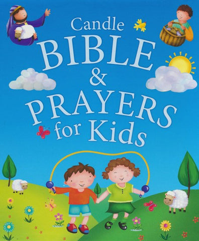 Candle Bible and Prayers for Kids (hardcover)