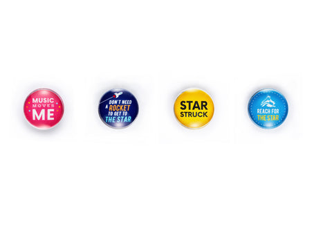 The Star PAC merchandize – Magnets