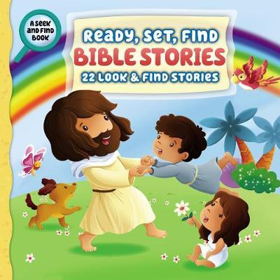 ROCKONLINE | New Creation Church | NCC | Joseph Prince | ROCK Bookshop | ROCK Bookstore | Star Vista | Children | Kids | Toddler | Preschooler | Ready, Set, Find | Bible Stories | Christian Living | Bible | Ready, Set, Find Bible Stories - Hardcover | Free delivery for Singapore Orders above $50.