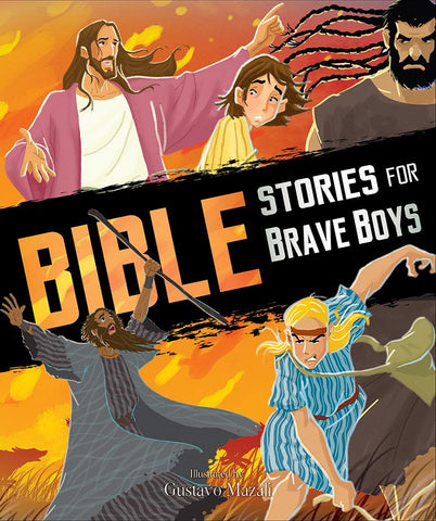 Bible Stories For Brave Boys