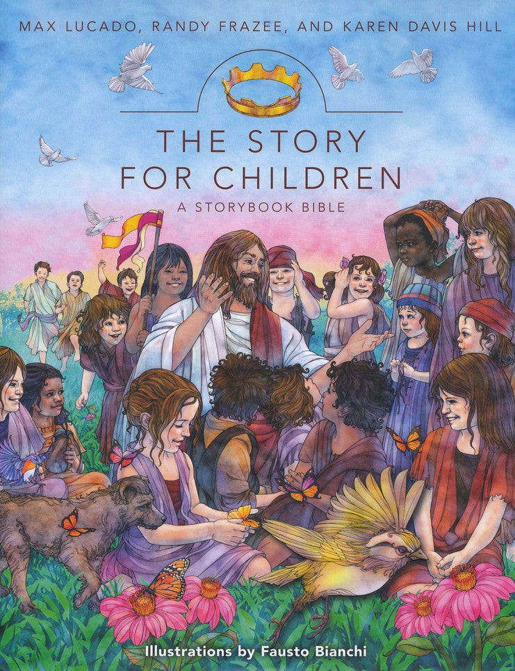 ROCKONLINE | New Creation Church | NCC | Joseph Prince | ROCK Bookshop | ROCK Bookstore | Star Vista | Children | Bible Stories | 8 to 10 year old | The Story for Children, Hardcover  | Free delivery for SG orders above $50.