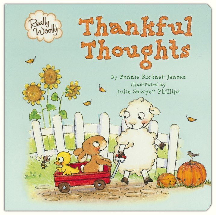 ROCKONLINE | New Creation Church | NCC | Joseph Prince | ROCK Bookshop | ROCK Bookstore | Star Vista | Children | Toddler | Board book | Christian Living | Really Woolly Thankful Thoughts | Free delivery for SG orders above $50.