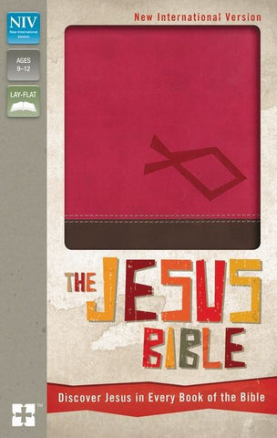 NIV The Jesus Bible: Discover Jesus in Every Book of the Bible