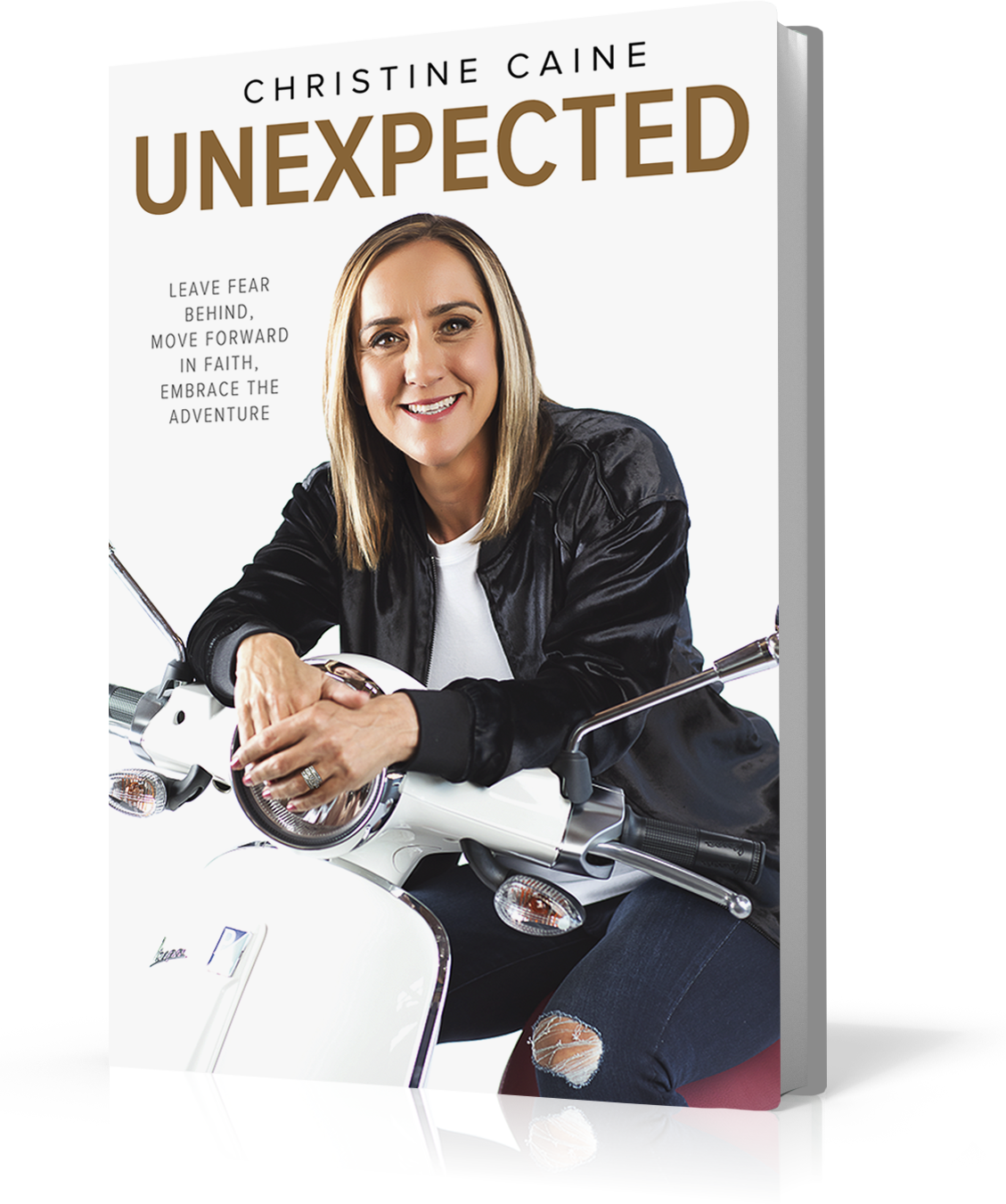 ROCKONLINE | New Creation Church | NCC | Joseph Prince | ROCK Bookshop | ROCK Bookstore | Star Vista | Unexpected | Christine Caine | Free delivery for Singapore Orders above $50.