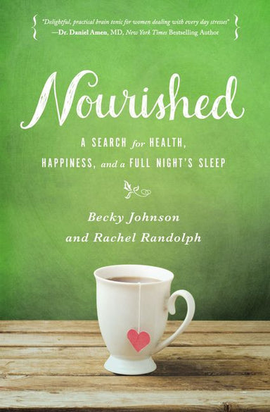 ROCKONLINE | New Creation Church | NCC | Joseph Prince | ROCK Bookshop | ROCK Bookstore | Star Vista | Nourished: A Search for Health, Happiness, and a Full Night's Sleep | Women | Life | Christian Living | Free delivery for Singapore Orders above $50.