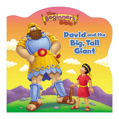 David And The Big, Tall Giant (board-book)