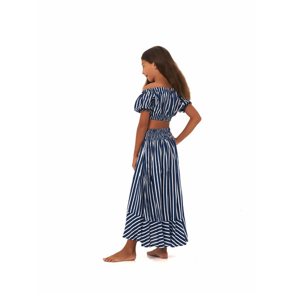 Felicia Top - Navy Stripes