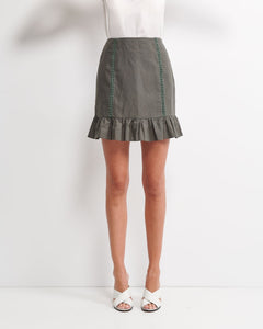 Layla Skirt - Forest Green