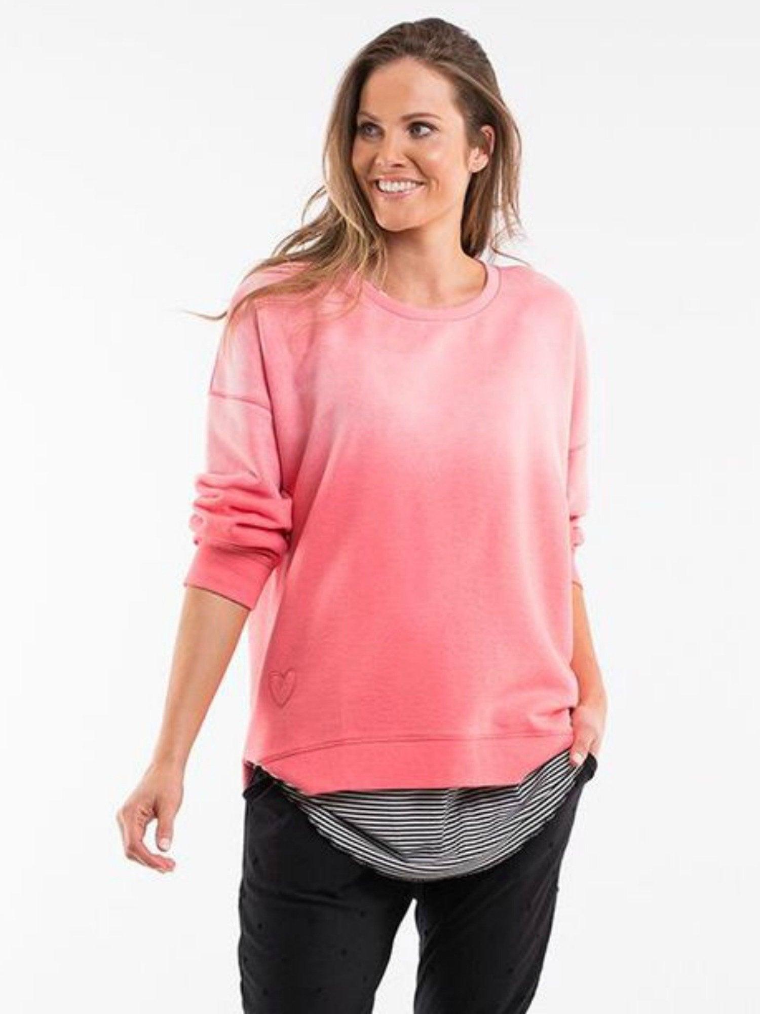 Sun Kissed Sweater - Washed Pink
