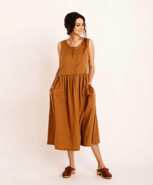 Cassia Dress - Cinnamon