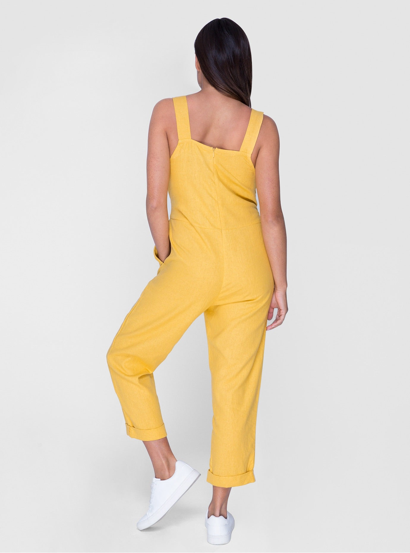 Kara Jumpsuit - Sunflower