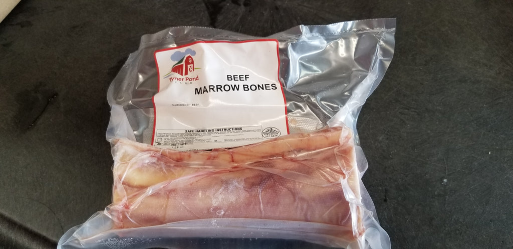 Beef Marrow Bones (Grass/Non-GMO Grain Allowed)